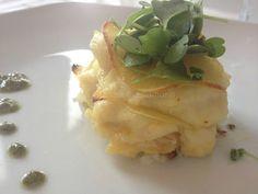 La Cucina di Stagione: Millefoglie di patate e baccalà