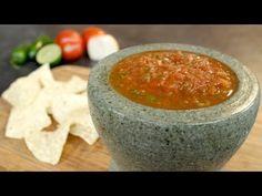 Restaurant Style Salsa Recipe - YouTube