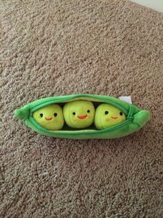 Three peas in a pod!!  #adorable Found in the Disney Store  (From Toy Story 3)