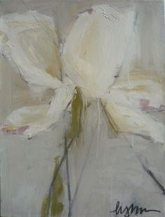 "Lynn Johnson, ""Tulip Study"", Oil on Canvas, 24x18 - Anne Irwin Fine Art"