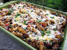 Mexican Penne Bake - made this again and it was great! Such a great healthy and inexpensive meal.