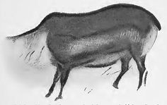 Font de Gaume - Cave Paintings from the Ice Ages Most Famous Paintings, Early Humans, Ice Age, Human Art, Outlines, Prehistoric, Reindeer, Moose Art, Fonts
