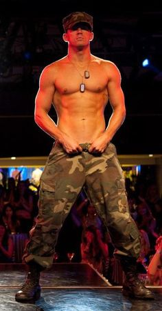 Channing Tatum (Magic Mike) my goodness can this man dance