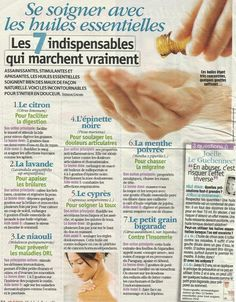 Pin on Conseils Health And Nutrition, Health Tips, Essential Oil Blends, Essential Oils, Homemade Body Care, Accupuncture, Pin On, Medicinal Herbs, Doterra