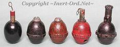 """Egg"" Grenades Mle.1917 Mle.1917 Na Mle.1917 Na Instructional Mle.1917 Na Variation"