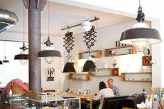 idee: lampen maken van uittrekbare spiegels Ikea