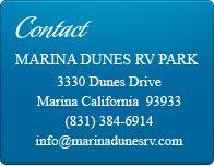 Marina Dunes RV Park, Marina California