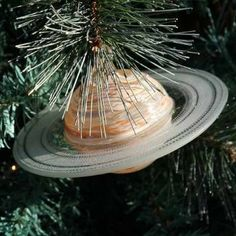 Amazon.com - Blown Glass Saturn Ornament