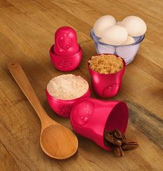 Limited Edition Russian Doll Measuring Cups by FollyHome £10.95