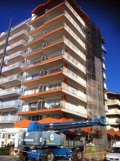 Rehabilitación fachada en Sant. Antoni de Calonge