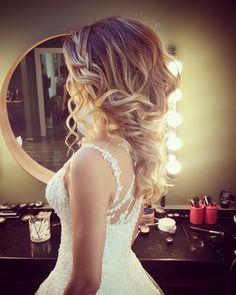 Romantik gelin saçı