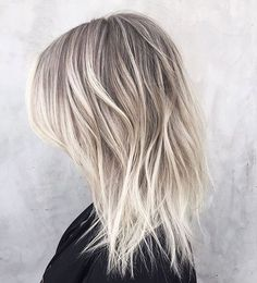 Bildresultat för cold blonde ombre