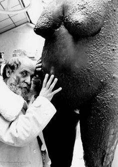 Robert Doisneau // César, Paris, 1981.