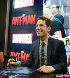 SDCC 2014: Ant-Man Signing at the Marvel Booth
