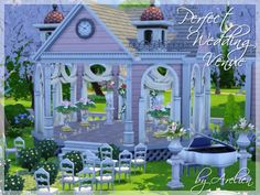 Perfect Wedding Venue by Arelien at The Sims Resource via Sims 4 Updates