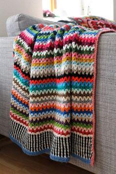 - Crochet Blanket Pattern - Scrappy Happy V-stitch Blanket - US, UK and Swedish terms - PDF file, granny square afghan - Point Granny Au Crochet, Basic Crochet Stitches, Crochet Diagram, Afghan Crochet Patterns, Crochet Basics, Crochet Afghans, Crochet Edgings, Crochet Hooks, Knit Crochet