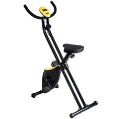 Giantex Foldable Exercise Bike Compact Indoor Cycling Home Workout Equipment by Giantex. Giantex Foldable Exercise Bike Compact Indoor Cycling Home Workout Equipment. Folding Exercise Bike, Black Tees, Home Workout Equipment, Training Equipment, Cycling Equipment, Cycling Machine, Speed Training, Indoor Cycling, At Home Workouts