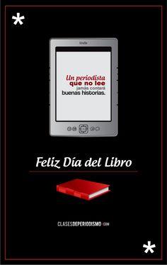 A leer. Feliz Día del Libro