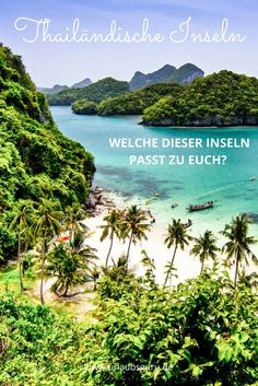 Thailändische Inseln gibt es viele - doch welche soll das nächste Urlaubsziel werden? Wählt aus 10 Inseln die perfekte für euch aus!