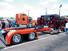 Custom Big Rig Truck Show 2001 Peterbilt 379