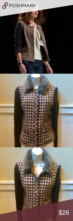 Beautiful Cabi cardigan jacket sweater! Sz 4 Beautiful Cabi cardigan jacket sweater! Sz 4. Never Worn! CAbi Jackets & Coats