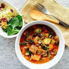Dijon Beef & Mushroom Stew