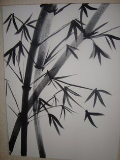 bamboo in ink