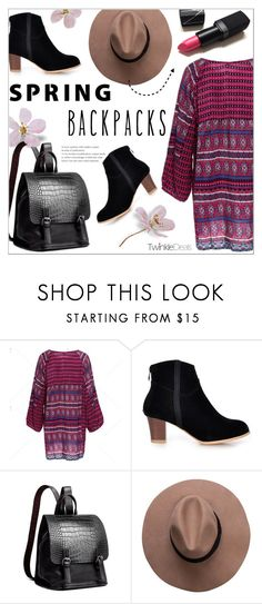 """""""Spring Backpacks ~ TwinkleDeals #3"""" by alexandrazeres ❤ liked on Polyvore featuring Spring, backpacks, newarrivals and twinkledeals"""