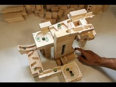 ▶ A few tracks built with the marble run blocks - YouTube