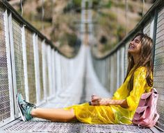 On the bridge www.grafea.com #moda #derisırtçanta #blog #tarz #seyahat #sonbahar #güzellik