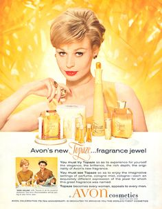 Avon Calling - Topaz   I have the tall bottle but in newer version...i wanted one like my Grandmother's