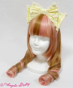 Sweet Twirling Head Bow in Yellow 2016