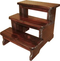 Stupendous Wooden Step Stool 90634 Rimedia Pabps2019 Chair Design Images Pabps2019Com