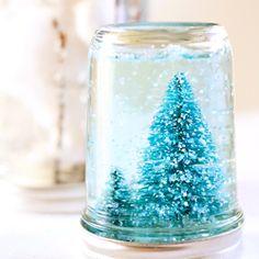Mason Jar Snow Globe Tutorials