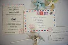 funky travel inspired wedding invitations - Google Search