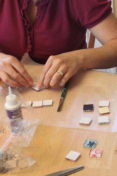 "Want to know how to make a glass tile pendant?? They're super easy – you can do this!  Here's a brief tutorial.  Glass Tile Pendants They can end up costing less than $1.70 each – wow!  Perfect for gifts.  What a great craft – I had one mom comment to me ""this is a great...Read More »"