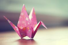 paper crane photo nursery art fine art by geishaphotography