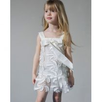 Dreamwish Φόρεμα βάπτισης ριχτό