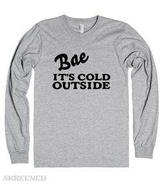 BAE IT'S COLD OUTSIDE #Skreened