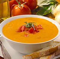 Cream of Tomato and Basil Soup from Olive Garden