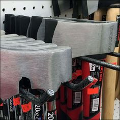Close cousins in shape and action, these short- and long-handled Hatchets and Axes employ the same Double Arm Utility Hooks oft used for their nail-driving Hammer brethren. Since tree-chopping appa… Camp Axe, Cousins, Hooks, Arms, Retail, Action, Shape, Group Action, Wall Hooks