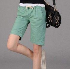 cfaec416cd0 Dámské letní kraťasy zelené – kraťasy dámské + POŠTOVNÉ ZDARMA Na tento  produkt se vztahuje nejen