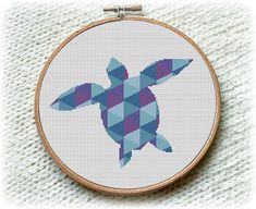 BOGO FREE Tortoise Cross Stitch Pattern Nature Ocean Animals