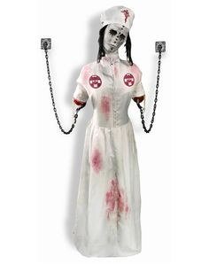 Convulsing Nurse Animated Decoration from Spirit Halloween on shop.CatalogSpree.com, your personal digital mall.