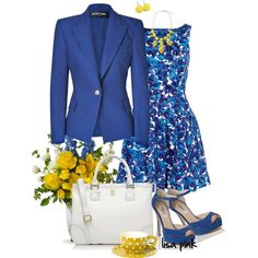 TRUE BLUE by lichiep on Polyvore