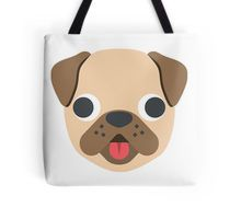 Dog emoji Tote Bag