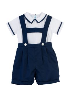 2-Piece Suspender Short Set - Feltman Brothers