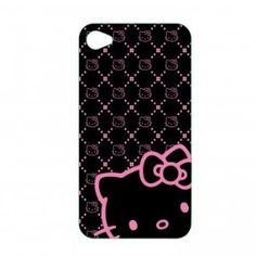 HK Black& pink iPhone case
