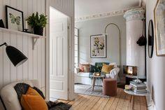 Living pe colț într-un apartament de 3 camere de numai 51 m²