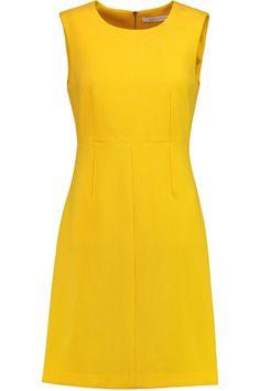 DIANE VON FURSTENBERG Carrie Stretch-Ponte Mini Dress. #dianevonfurstenberg #cloth #dress
